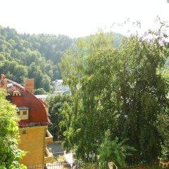 Отель Anna Чехия, Карловы Вары - отзывы, цены и фото номеров - забронировать отель Anna онлайн балкон