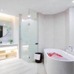 Huaqiang Plaza Hotel Shenzhen 4* Представительский люкс с различными типами кроватей фото 2