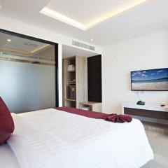 Отель Paripas Patong Resort 4* Стандартный семейный номер с разными типами кроватей фото 11