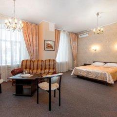 Гостиница Самара Люкс 3* Номер Бизнес двуспальная кровать фото 9