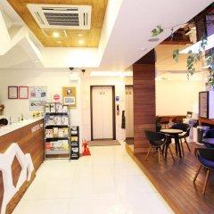 Отель Pop Jongno Южная Корея, Сеул - отзывы, цены и фото номеров - забронировать отель Pop Jongno онлайн интерьер отеля фото 3