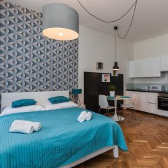 Апартаменты Comfortable Prague Apartments Студия с различными типами кроватей фото 2