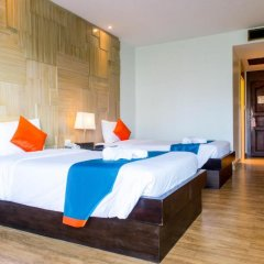 Отель Sea Breeze Jomtien Resort 4* Улучшенный номер с различными типами кроватей фото 5