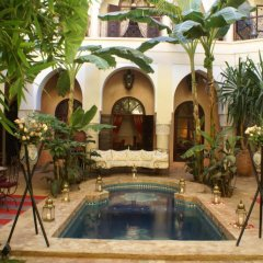 Отель Riad Nabila Марракеш бассейн фото 3