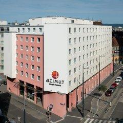 Azimut Hotel Vienna Вена парковка
