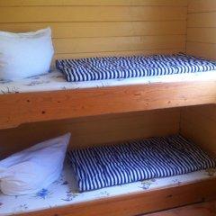 Отель Blockhütten Schnatermann Бунгало с различными типами кроватей