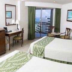 Отель GR Solaris Cancun - Все включено 5* Номер Делюкс с различными типами кроватей фото 7