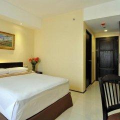 Отель M Citi Suites 3* Стандартный номер с различными типами кроватей фото 8