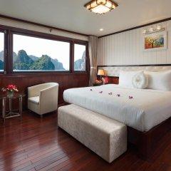 Отель Halong Silversea Cruise 3* Номер категории Премиум с различными типами кроватей фото 2