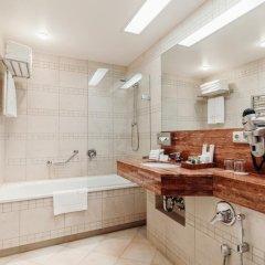 Отель Vanagupe Hotel Литва, Паланга - отзывы, цены и фото номеров - забронировать отель Vanagupe Hotel онлайн ванная