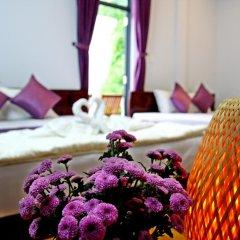 Отель Purple Garden Homestay 2* Стандартный семейный номер с двуспальной кроватью фото 2