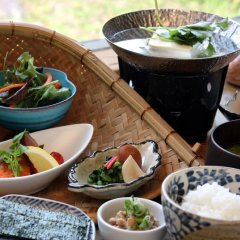 Отель Yunoyado Irifune Минамиогуни питание фото 2