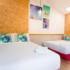 Отель Glur Bangkok Люкс повышенной комфортности разные типы кроватей фото 22