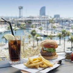 Отель Duquesa De Cardona Испания, Барселона - 9 отзывов об отеле, цены и фото номеров - забронировать отель Duquesa De Cardona онлайн пляж фото 2