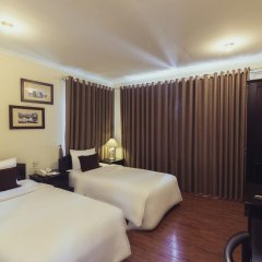 Saigon Halong Hotel 4* Улучшенная вилла с различными типами кроватей фото 8