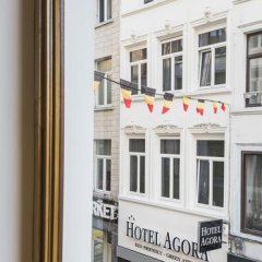 Отель Agora Bruxelles Grand Place Бельгия, Брюссель - отзывы, цены и фото номеров - забронировать отель Agora Bruxelles Grand Place онлайн балкон