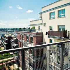 Апартаменты Friendly Inn Apartments Хожув балкон