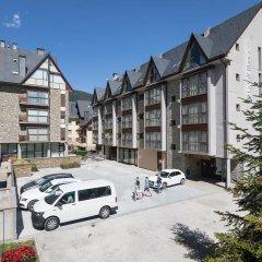 Отель Aparthotel La Vall Blanca парковка