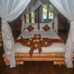 Отель Balangan Sea View Bungalow 3* Стандартный семейный номер с двуспальной кроватью фото 6