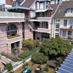 Отель Apartmenthaus Hohe Straße Дюссельдорф балкон