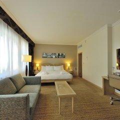 Отель Hilton Milan 4* Представительский номер с различными типами кроватей фото 10