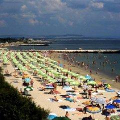 Отель Guest House Cherno More Поморие пляж