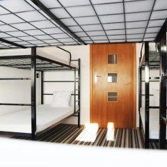 Warsaw Center Hostel LUX Кровать в общем номере с двухъярусной кроватью фото 2