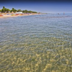 Отель Mare Blu Италия, Пинето - отзывы, цены и фото номеров - забронировать отель Mare Blu онлайн пляж фото 2