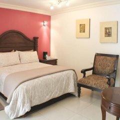 Puebla de Antaño Hotel комната для гостей