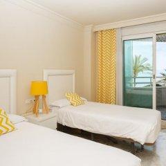 Отель Coral Beach Aparthotel 4* Улучшенные апартаменты с различными типами кроватей фото 17