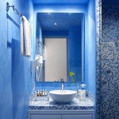 Отель Santorini Kastelli Resort 5* Улучшенный номер с различными типами кроватей фото 6
