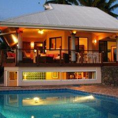 Отель Te Tavake by Tahiti Homes Французская Полинезия, Пунаауиа - отзывы, цены и фото номеров - забронировать отель Te Tavake by Tahiti Homes онлайн бассейн фото 3