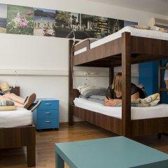 Hostel Bureau Кровать в общем номере с двухъярусной кроватью фото 13