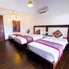 Отель Hoang Dao Villa 3* Номер Делюкс с различными типами кроватей фото 4