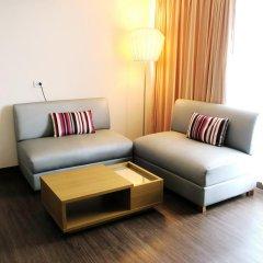 Samran Place Hotel 3* Семейный номер Делюкс с двуспальной кроватью фото 2