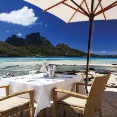 Отель Sofitel Bora Bora Private Island пляж