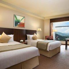 Shangri-la Hotel, Shenzhen 5* Улучшенный номер с различными типами кроватей фото 3