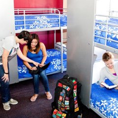 Отель USA Hostels San Francisco Кровать в женском общем номере с двухъярусной кроватью фото 7