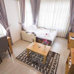 Апартаменты Feyza Apartments Студия Делюкс с различными типами кроватей