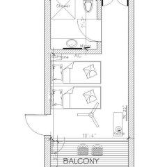 Отель Thaulle Resort 3* Стандартный номер с двуспальной кроватью фото 5