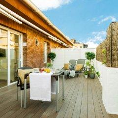Отель Aparthotel Mariano Cubi Barcelona балкон