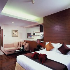 Отель FuramaXclusive Sathorn, Bangkok 4* Номер Делюкс с различными типами кроватей фото 8