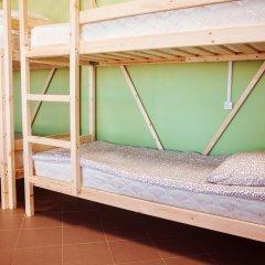 Hostel Lastochka Кровать в общем номере с двухъярусной кроватью фото 6