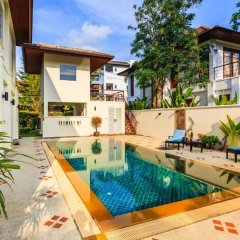 Отель Baan Kaja Villa by Lofty Таиланд, Камала Бич - отзывы, цены и фото номеров - забронировать отель Baan Kaja Villa by Lofty онлайн бассейн