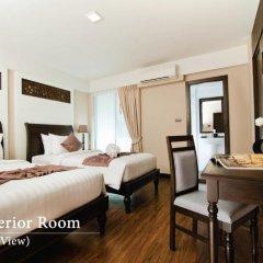 Отель Baan Wanglang Riverside 3* Улучшенный номер с различными типами кроватей фото 2