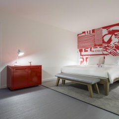 Отель Radisson RED Brussels 4* Стандартный номер с различными типами кроватей
