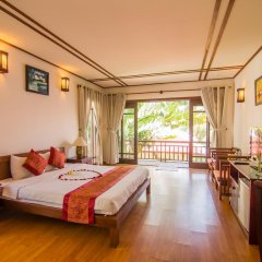 Отель Riverside Bamboo Resort 3* Номер Делюкс фото 2