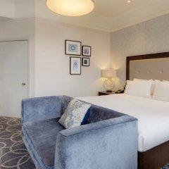 Hilton Glasgow Grosvenor Hotel 4* Номер Делюкс с разными типами кроватей фото 3