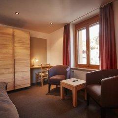Отель Landhaus Швейцария, Занен - отзывы, цены и фото номеров - забронировать отель Landhaus онлайн комната для гостей фото 2