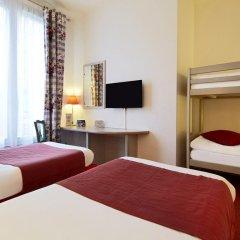 Отель Campanile Val de France 3* Стандартный номер с двухъярусной кроватью фото 3